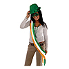 IRISH SATIN SASH (6/CS) PARTY SUPPLIES
