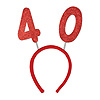 40TH GLITTERED BOPPERS PARTY SUPPLIES