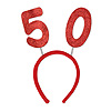 50 GLITTERED BOPPERS (12/CS) PARTY SUPPLIES