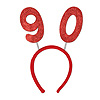 90TH GLITTERED BOPPERS PARTY SUPPLIES