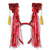 GRAD CAP W/FRINGE BOPPERS RED PARTY SUPPLIES