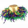 MARDI GRAS FEATHER HAT PARTY SUPPLIES