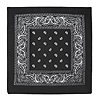 BLACK BANDANA (12/CASE) PARTY SUPPLIES