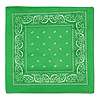 GREEN BANDANA (12/CASE) PARTY SUPPLIES