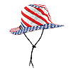 PATRIOTIC FLAG HAT (6/CS) PARTY SUPPLIES