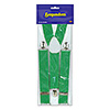GREEN SUSPENDERS (12/CS) PARTY SUPPLIES