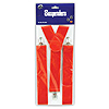 RED SUSPENDERS (12/CS) PARTY SUPPLIES
