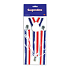 PATRIOTIC SUSPENDERS (12/CS) PARTY SUPPLIES