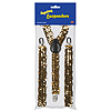 GOLD SEQUINED SUSPENDERS (12/CS) PARTY SUPPLIES