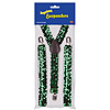 GREEN SEQUINED SUSPENDERS PARTY SUPPLIES