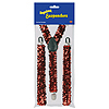 RED SEQUINED SUSPENDERS (12/CS) PARTY SUPPLIES