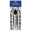PIANO KEYBOARD SUSPENDERS PARTY SUPPLIES