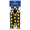 BEER MUG SUSPENDERS (12/CS) PARTY SUPPLIES
