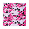 PINK CAMO BANDANA (12/CS) PARTY SUPPLIES