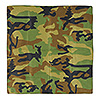 CAMO BANDANA (12/CS) PARTY SUPPLIES