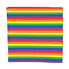 RAINBOW BANDANA (12/CS) PARTY SUPPLIES