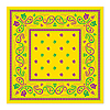 MARDI GRAS BANDANA (12/CS) PARTY SUPPLIES