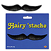 BLACK HAIRY 'STACHE PARTY SUPPLIES