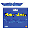 DISCONTINUED BLUE HAIRY 'STACHE PARTY SUPPLIES