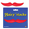 RED HAIRY 'STACHE PARTY SUPPLIES