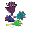 DISCONTINUED HAND CLAPPERS AST COLOR 5IN PARTY SUPPLIES