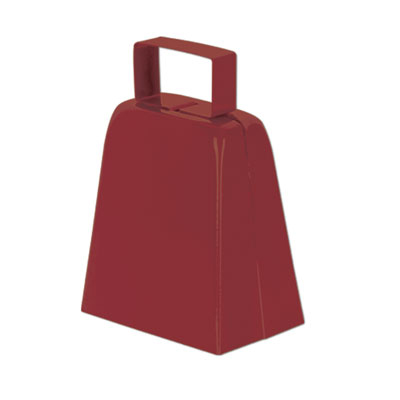 Click for larger picture of COWBELLS MAROON (12/CS) PARTY SUPPLIES
