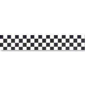 Black Check Racing Decorations Party Supplies Checkered Poly