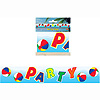 BEACH BALL PARTY TAPE PARTY SUPPLIES