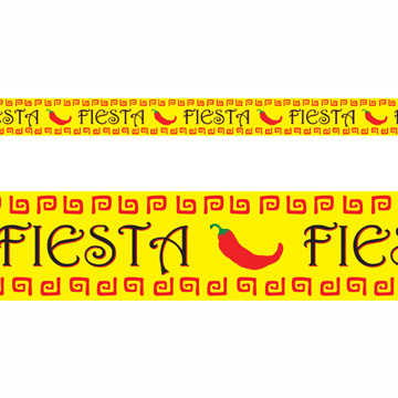 Click for larger picture of FIESTA PARTY TAPE PARTY SUPPLIES