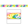 TYE-DYED W/PEACE SIGNS PARTY TAPE PARTY SUPPLIES