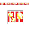 POPCORN PARTY TAPE (12/CS) PARTY SUPPLIES