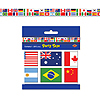 INTERNATIONAL FLAG PARTY TAPE PARTY SUPPLIES