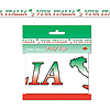 VIVA ITALIA PARTY TAPE (12/CS) PARTY SUPPLIES