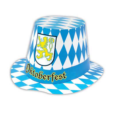 Click for larger picture of OKTOBERFEST HI-HAT PARTY SUPPLIES