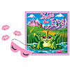 KISS THE FROG PARTY GAME (24/CS) PARTY SUPPLIES