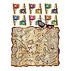 PIRATE TREASURE MAP PARTY GAME PARTY SUPPLIES