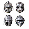 KNIGHT MASKS PARTY SUPPLIES