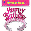 BIRTHDAY TIARAS W/FRINGE (24/CS) PARTY SUPPLIES
