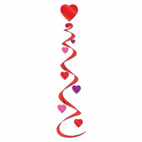 Click for larger picture of HEART WHIRLS (18/CS) PARTY SUPPLIES
