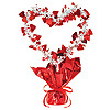 RED HEART GLEAM 'N SHAPE CENTRPC(12/CS) PARTY SUPPLIES