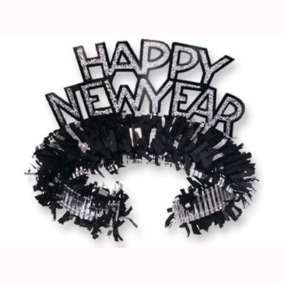 Click for larger picture of TIARA NEW YEAR BLACK PARTY SUPPLIES