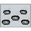 BLACK & WHITE LEGACY TIARA (50/CS) PARTY SUPPLIES