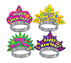 COLOR-BRITE NEW YEAR TIARAS PARTY SUPPLIES