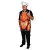THANKSGIVING FABRIC NOVELTY APRON (6/CS) PARTY SUPPLIES