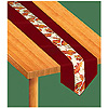 AUTUMN LEAVES FABRIC TABLE RUNNER PARTY SUPPLIES