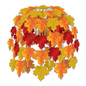 Click for larger picture of LEAVES OF AUTUMN CASCADE PARTY SUPPLIES