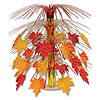 FABRIC FALL LEAVES CENTERPIECE (6/CS) PARTY SUPPLIES