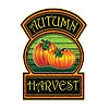 DISCONTINUED AUTUMN HARVEST SIGN 12