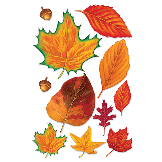 FALL LEAF CUTOUT (264/CS) PARTY SUPPLIES