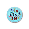 I DID IT SATIN BUTTON (6/CS) PARTY SUPPLIES